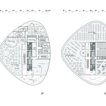 Plan 2F, 3F